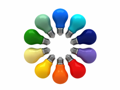 color wheel light bulbs