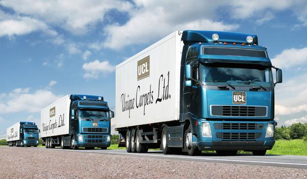 truck caravan
