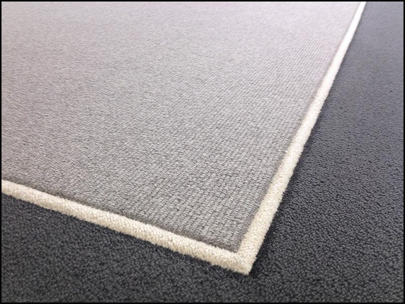bordered rug