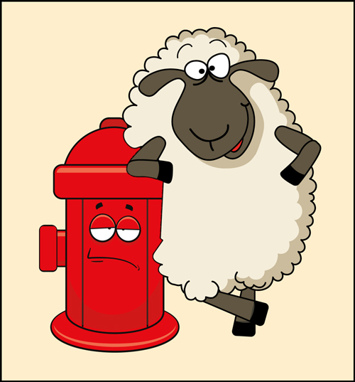 Fire Safe sheep