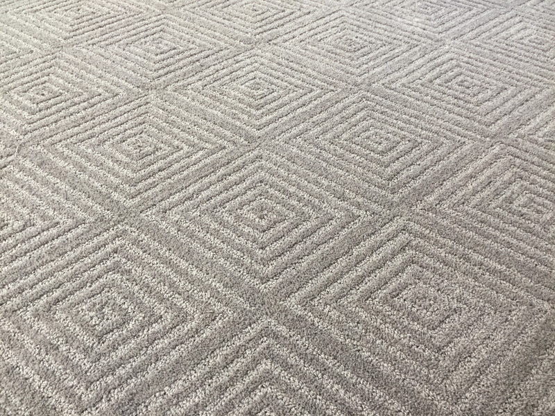Diamond Pattern custom rug