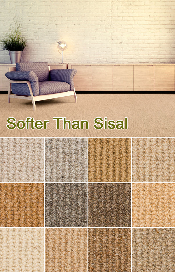 softer than sisal